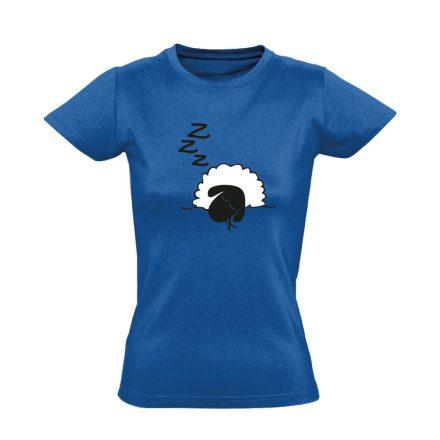 Szép Álmokat aneszteziológiai női póló (kék)