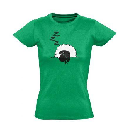 Szép Álmokat aneszteziológiai női póló (zöld)