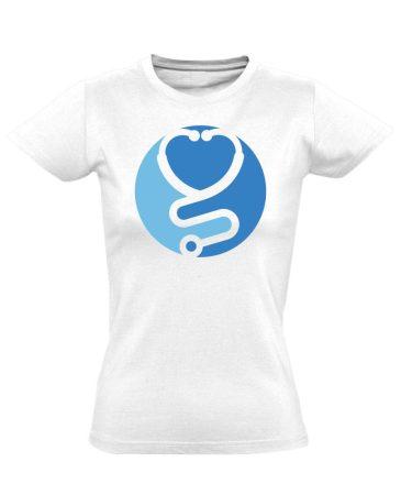 Zen asszisztens női póló (fehér)