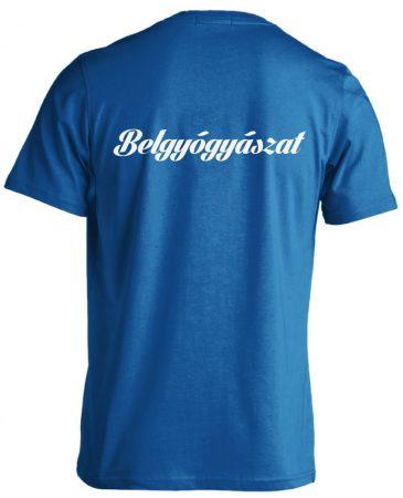 Belgyógyászat férfi póló (kék)