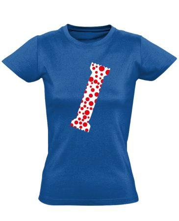 A Pöttyös Póló Az Igazi bőrgyógyászati női póló (kék)
