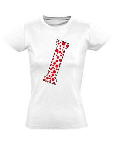 A Pöttyös Póló Az Igazi bőrgyógyászati női póló (fehér)