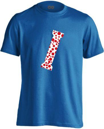 A Pöttyös Póló Az Igazi bőrgyógyászati férfi póló (kék)