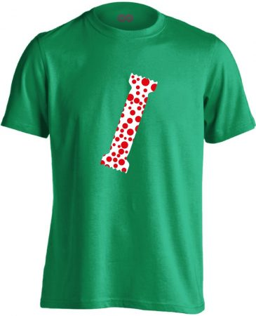 A Pöttyös Póló Az Igazi bőrgyógyászati férfi póló (zöld)