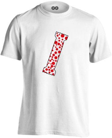 A Pöttyös Póló Az Igazi bőrgyógyászati férfi póló (fehér)