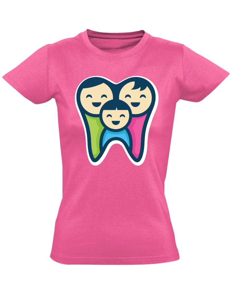 15f1be08f1 FogPereputty fogászati női póló (rózsaszín, normál, XXL-es méret)