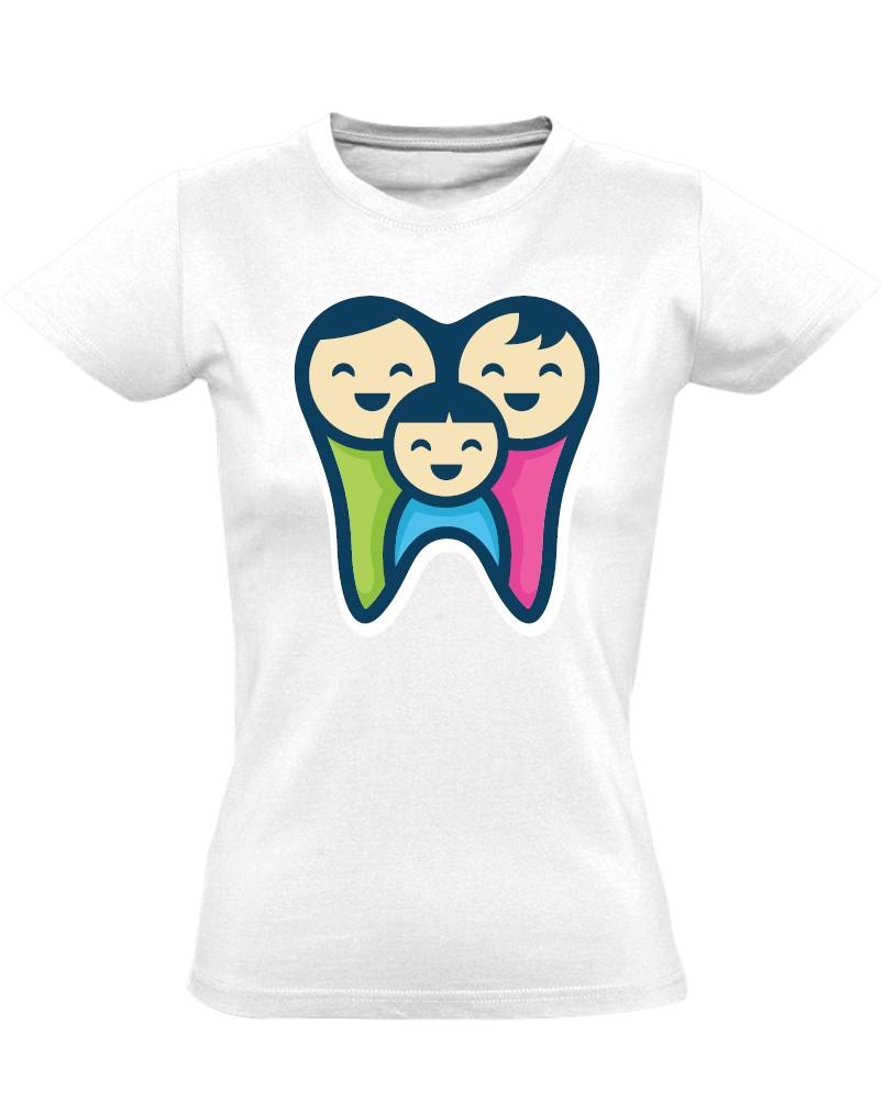 381ebb581d FogPereputty fogászati női póló (fehér)