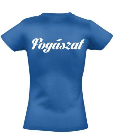 Fogászat női póló (kék)