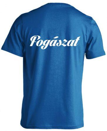 Fogászat férfi póló (kék)