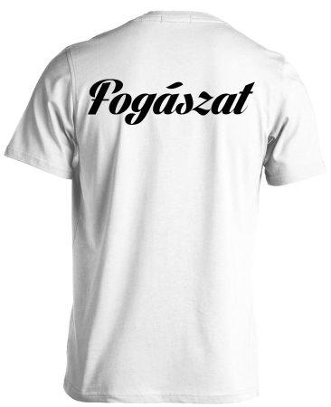 Fogászat férfi póló (fehér)