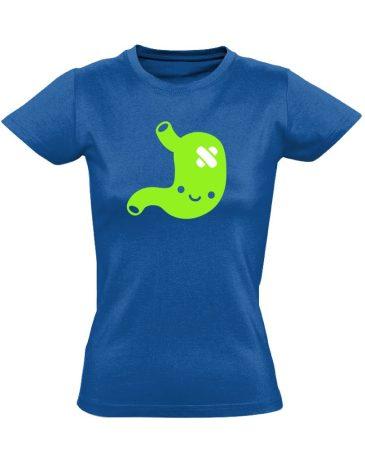 PiciPocak gasztroenterológiai női póló (kék)