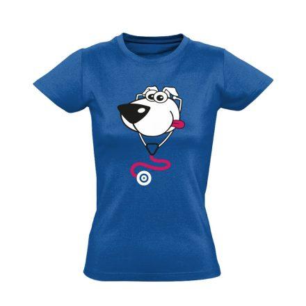 BlökiDoki gyermekgyógyászati női póló (kék)