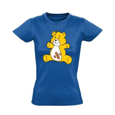 BibisBocs gyermekgyógyászati női póló (kék)