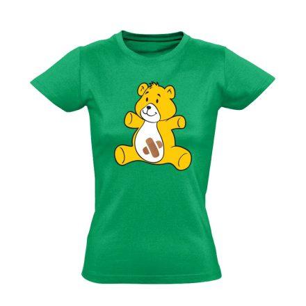 BibisBocs gyermekgyógyászati női póló (zöld)