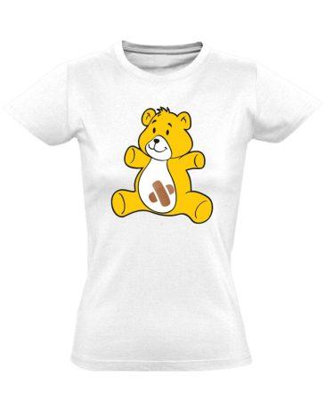 BibisBocs gyermekgyógyászati női póló (fehér)