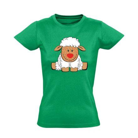 Baricella gyermekgyógyászati női póló (zöld)