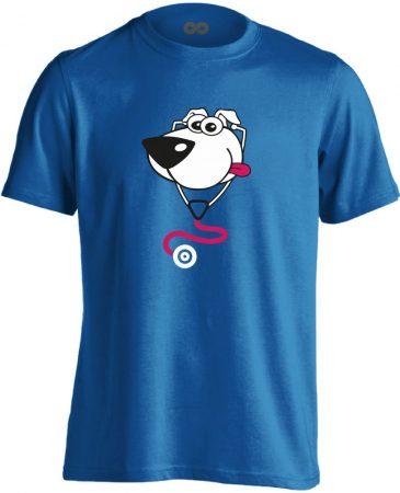 BlökiDoki gyermekgyógyászati férfi póló (kék)