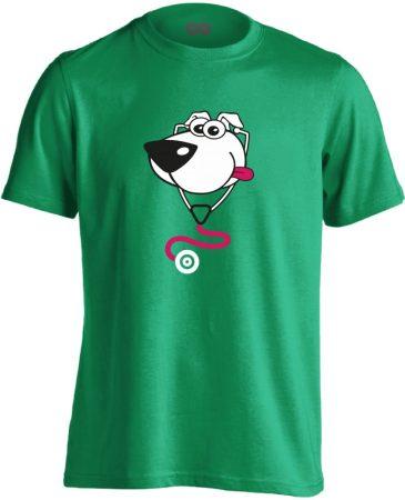 BlökiDoki gyermekgyógyászati férfi póló (zöld)