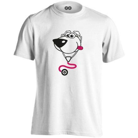 BlökiDoki gyermekgyógyászati férfi póló (fehér)