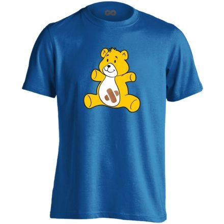 BibisBocs gyermekgyógyászati férfi póló (kék)