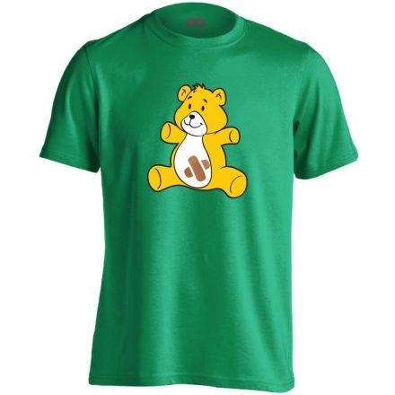 BibisBocs gyermekgyógyászati férfi póló (zöld)