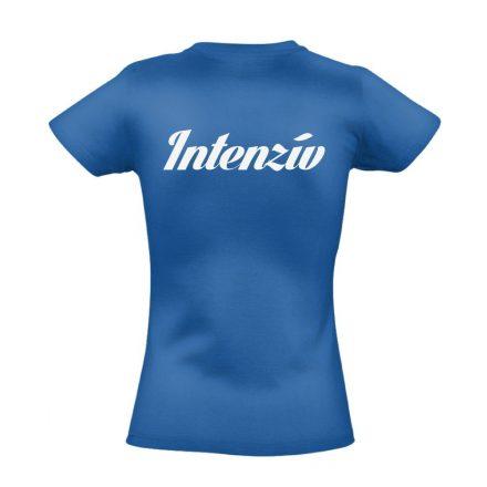 Intenzív osztályos női póló (kék)