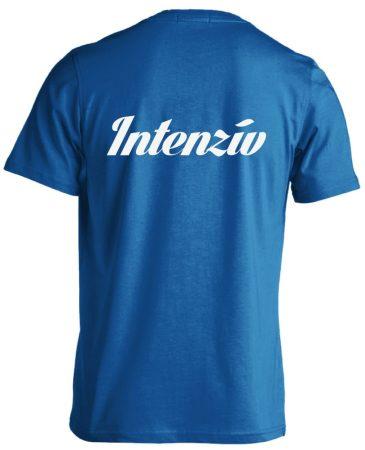 Intenzív osztályos férfi póló (kék)