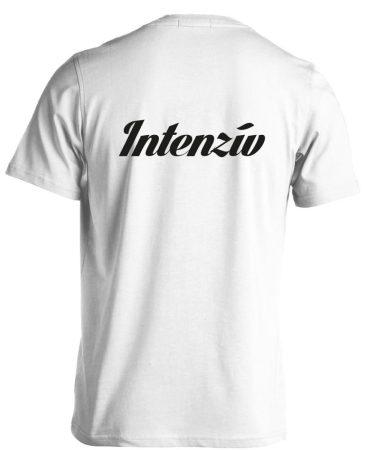 Intenzív osztályos férfi póló (fehér)