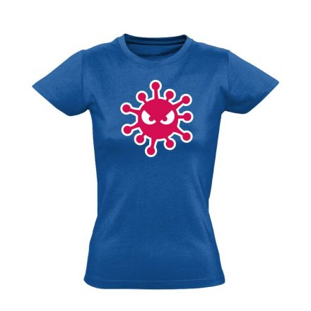 HarciBaci infektológiai női póló (kék)