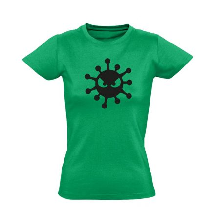 HarciBaci infektológiai női póló (zöld)