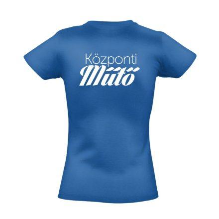 Központi műtő női póló (kék)