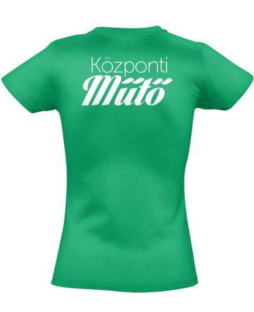 Központi műtő női póló (zöld)