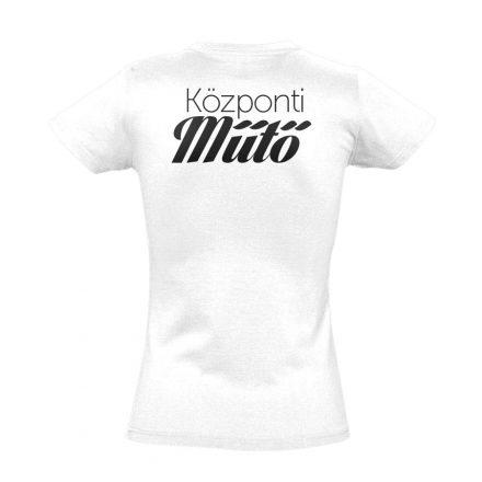 Központi műtő női póló (fehér)