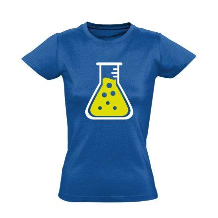 LombikBuggy laboros/mikrobiológiai női póló (kék)