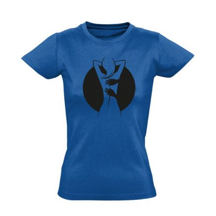 Gyúr-ma masszázs női póló (kék)