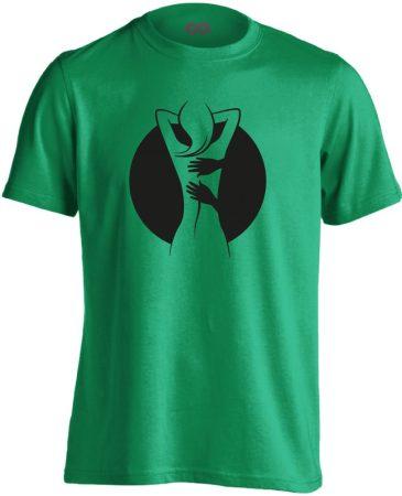 Gyúr-ma masszázs férfi póló (zöld)
