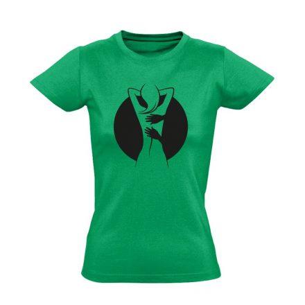 Gyúr-ma masszázs női póló (zöld)