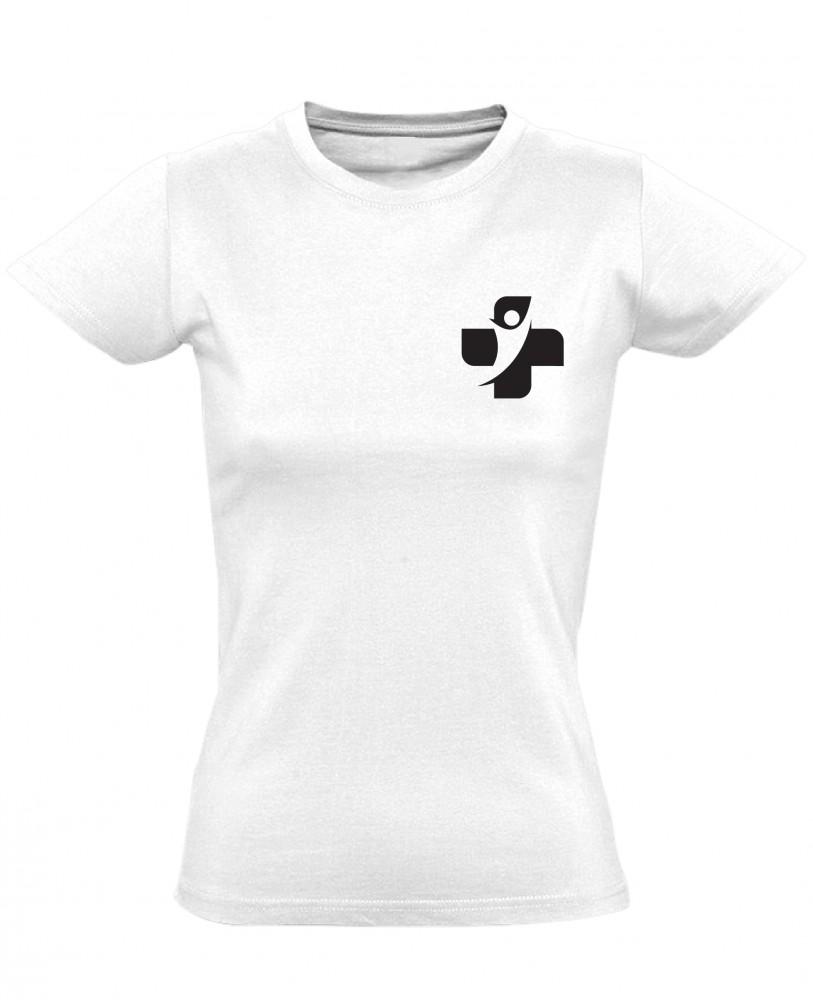 6cbca2ed56 Medicus Motus egészségügyi egyenpóló, női (fehér)