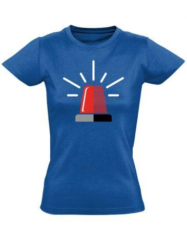 NeeNow női mentős póló (kék)