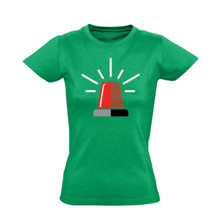 NeeNow női mentős póló (zöld)