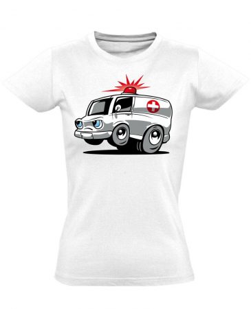 Nysa női mentős póló (fehér)