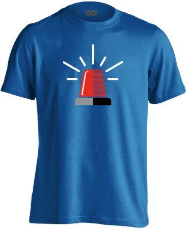 Neenow mentős férfi póló (kék)