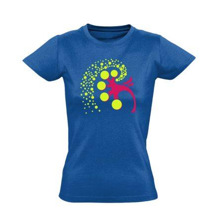 A Vese Művészete nefrológiai női póló (kék)