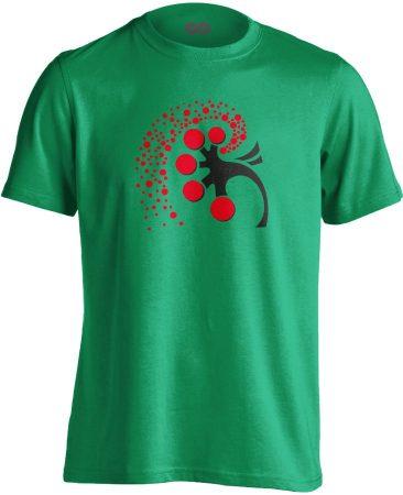 A Vese Művészete nefrológiai férfi póló (zöld)