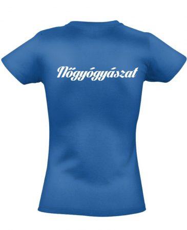 Nőgyógyászati női póló (kék)