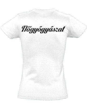 Nőgyógyászati női póló (fehér)
