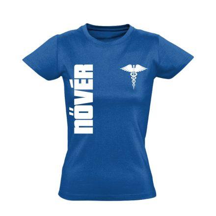 Nővér női póló (kék)