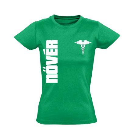 Nővér női póló (zöld)