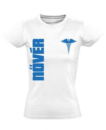 Nővér női póló (fehér)