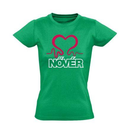 Nővérláv nővér póló (zöld)